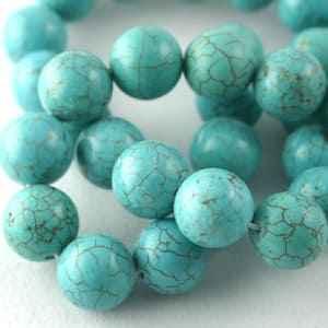 درباره سنگ فیروزه آفریقایی (African Turquoise) بیشتر بدونیم