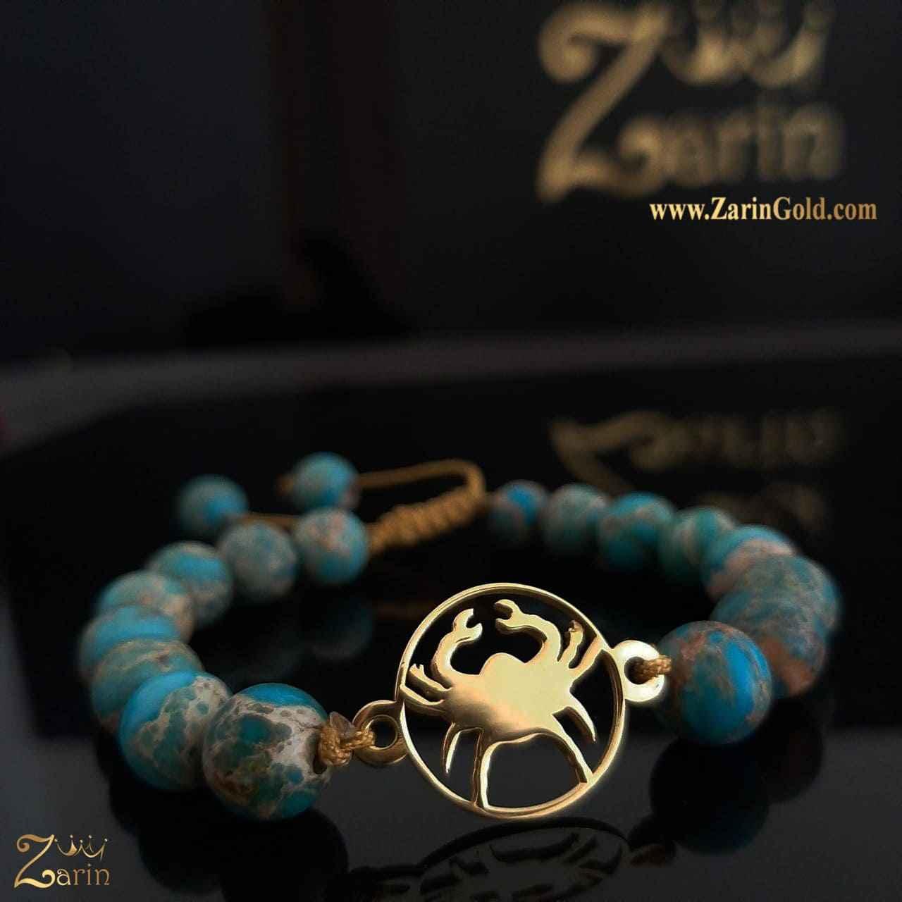 دستبند طلا نماد ماه تولد