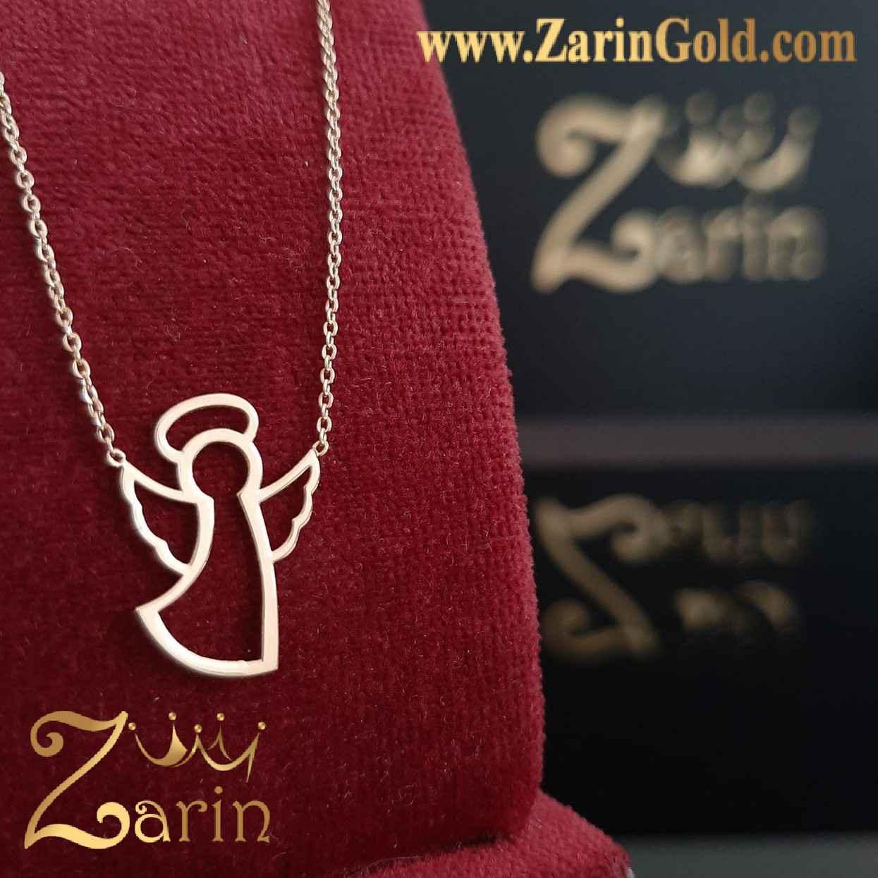 گردنبند طلا طرح فرشته