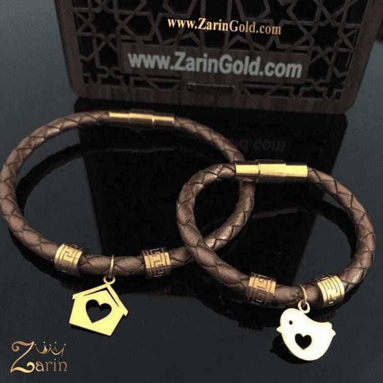دستبند طلا طرح مادر و کودک
