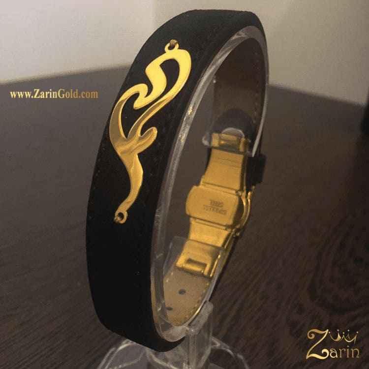 دستبند طلا طرح مادر