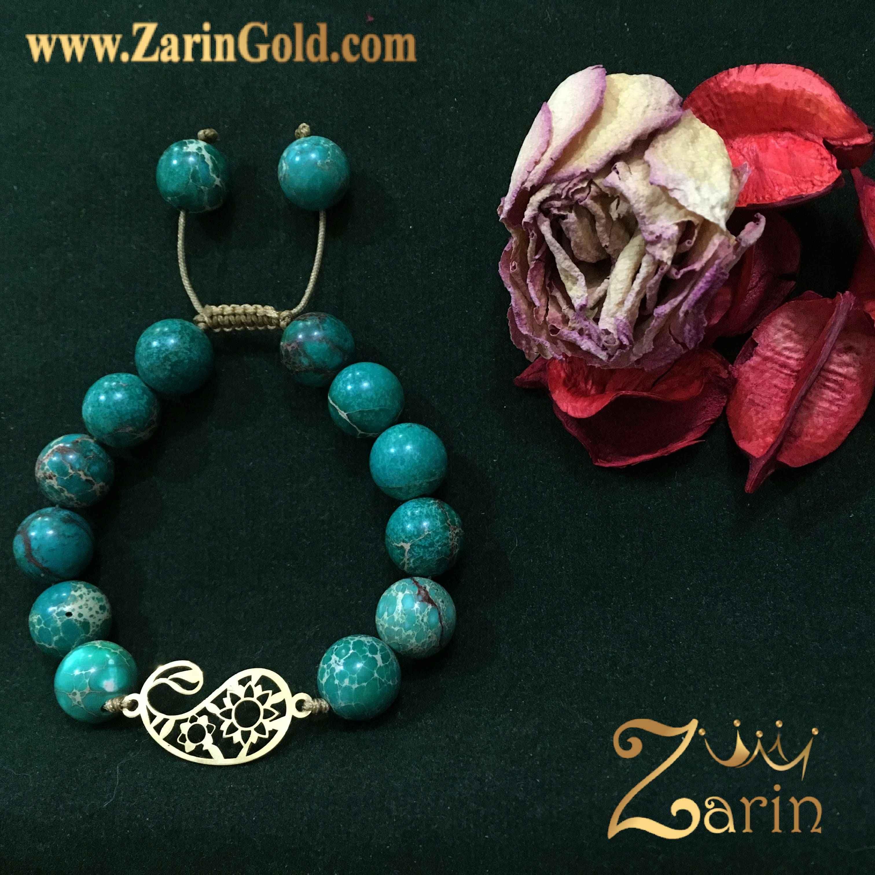 دستبند طلا نماد بقه جقه