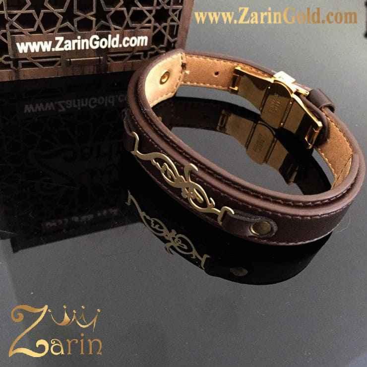 دستبند طلا طرح اسم