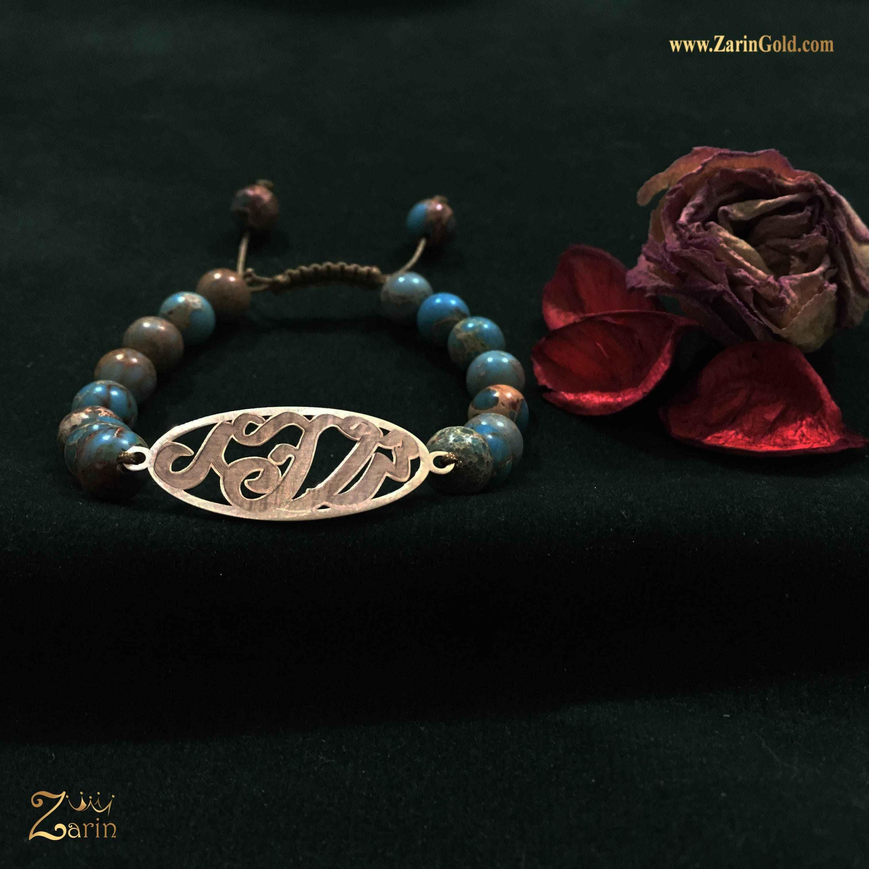 دستبند طلا طرح