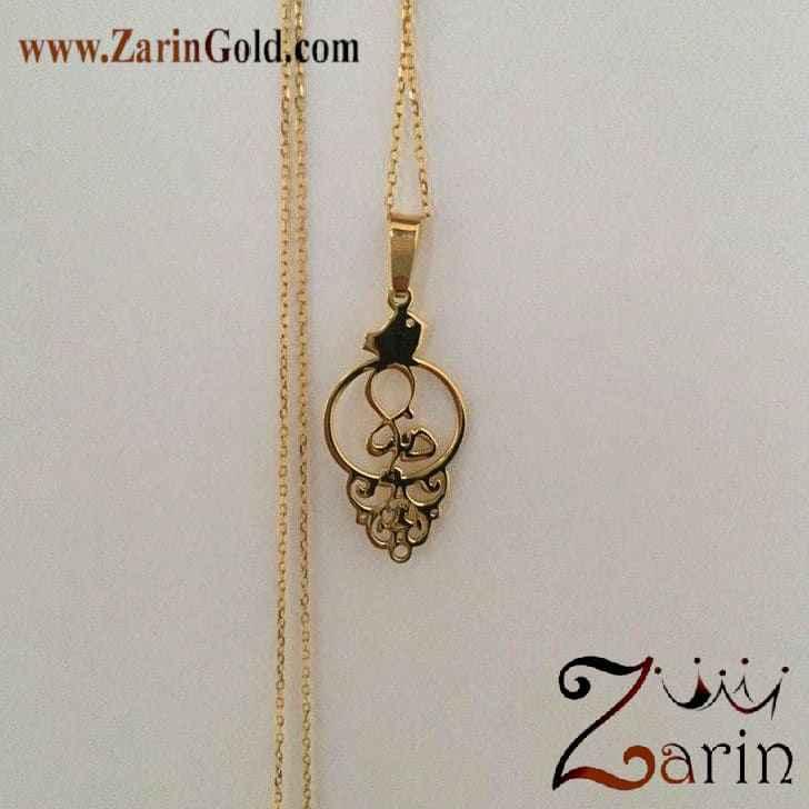 گردنبند طلا فارسی دنیا