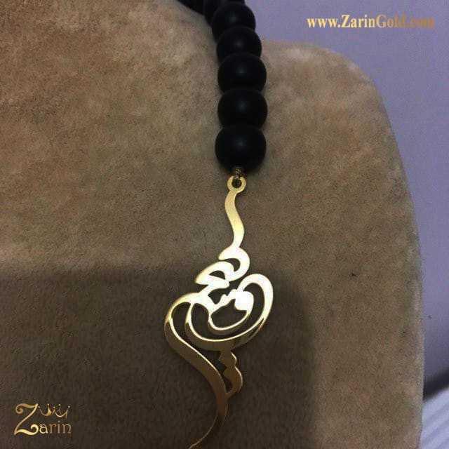 گردنبند طلا اسم فارسی کیخسرو