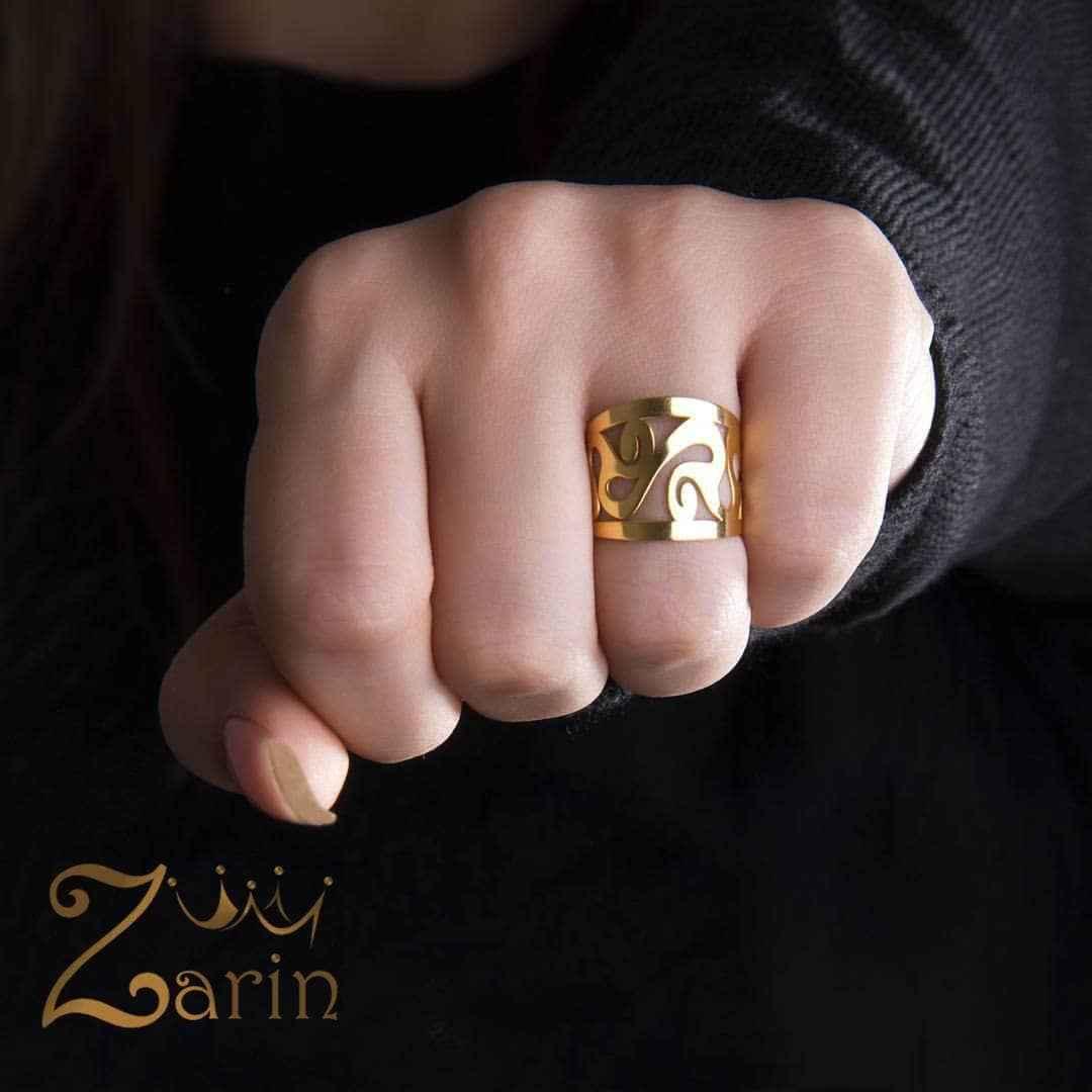 انگشتر لیزر طلا