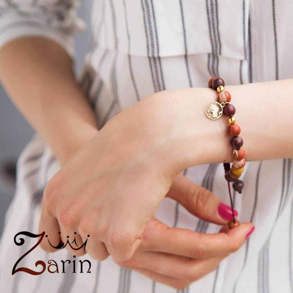 دستبند طلا  طرح ماه تولد