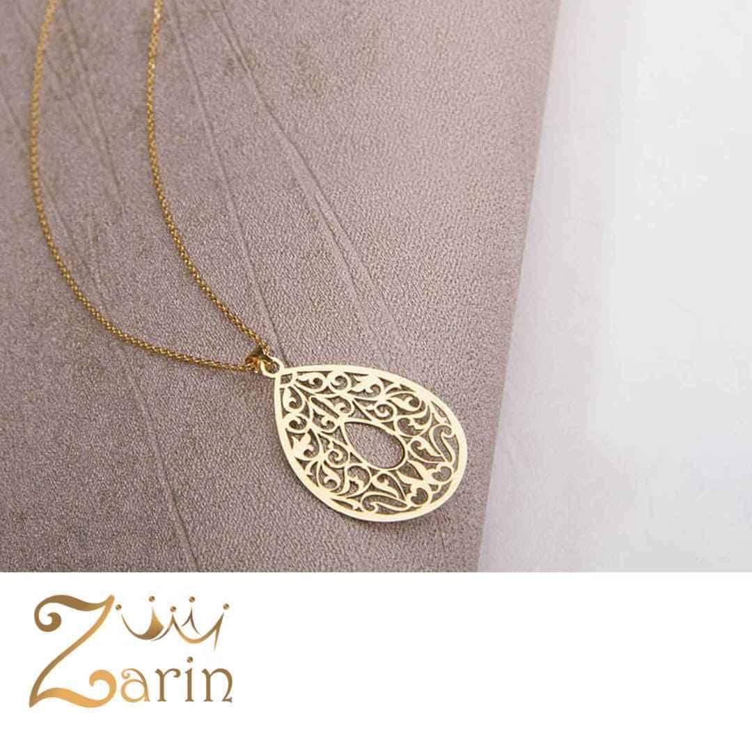 گردنبند طلا طرح اسلیمی