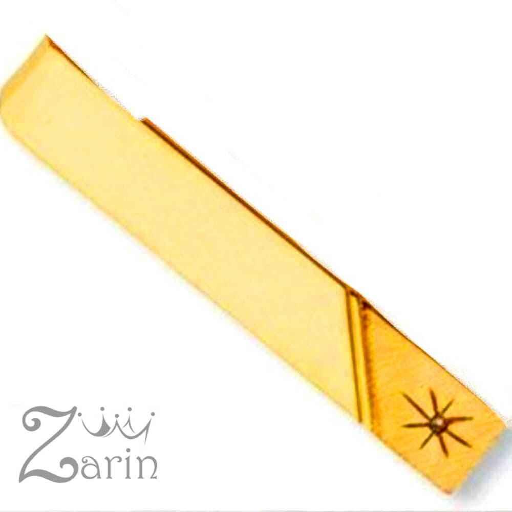 گیره کروات طلا مدل ستاره