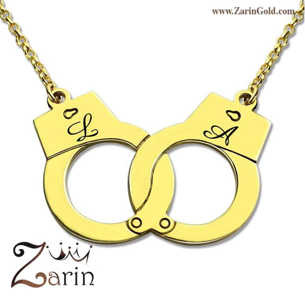 گردنبند طلا طرح دستبند