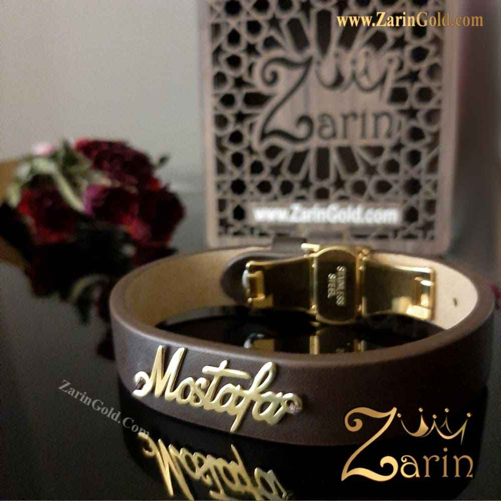 دستبند اسم انگلیسی مصطفی