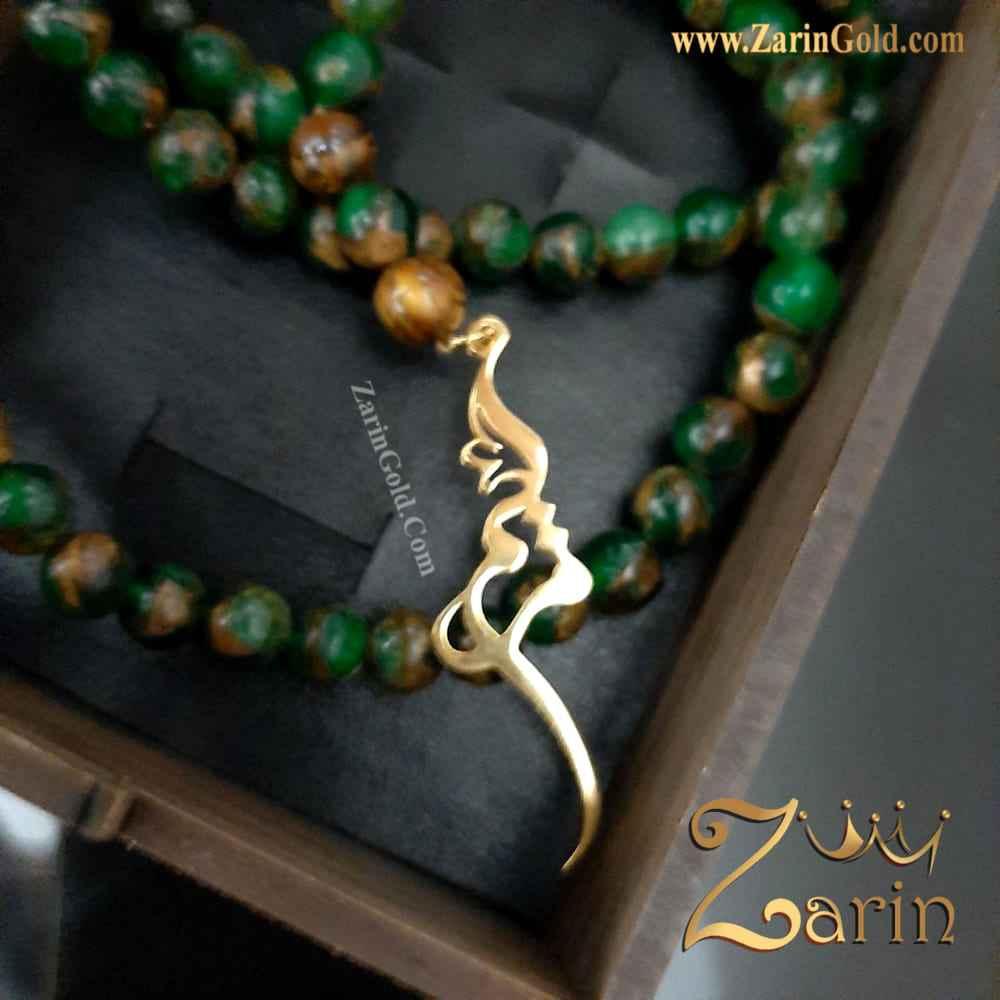 گردنبند طلا - اسم مریم