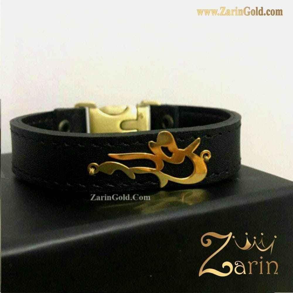 دستبند طلای اسم میلاد