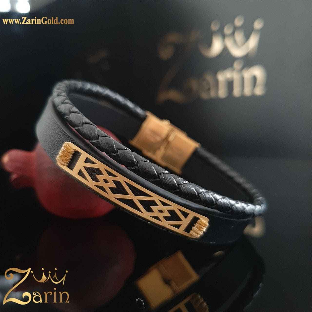 دستبند طرح لوزی